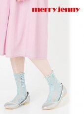 merry jenny(メリージェニー)<br>パールバレエシューズ  18春夏.【281831803601】18sspre フラットシューズ