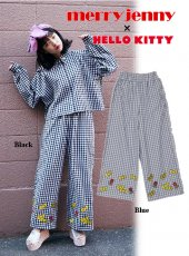 merry jenny(メリージェニー)<br>HELLO KITTY wide pants  18春夏.【281810703701】