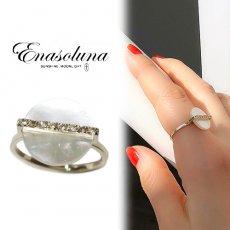 Enasoluna(エナソルーナ)<br>SUIGETSU ring【RG-1377】 リング