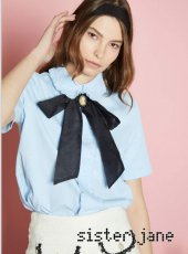 sister jane(シスタージェーン)<br>Reign Down Cameo Blouse  18春夏.【17SJ03BL738】