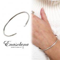 Enasoluna(エナソルーナ)<br>Flow bangle 【BS-1359】ブレスレット・アンクレット sale