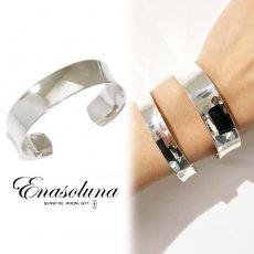 Enasoluna(エナソルーナ)<br>Curvy bangle 'M'  【BS-1388】 ブレスレット・アンクレット sale