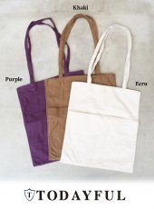 TODAYFUL(トゥデイフル)<br>Cottonsuede Tote Bag  18秋冬予約【11821015】