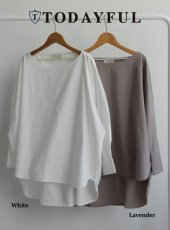 TODAYFUL(トゥデイフル)<br>Boatneck Typewriter Blouse   18秋冬予約【11820412】 18awpre