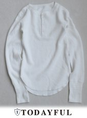 TODAYFUL(トゥデイフル)<br>Vintage Honeycomb Thermal  18秋冬予約【11820601】