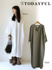 TODAYFUL(トゥデイフル)<br>Keyneck Typewriter Dress  18秋冬予約【11820322】 18awpre