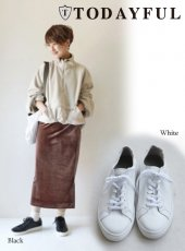 TODAYFUL(トゥデイフル)<br>Soft Leather Sneakers  18秋冬【11821041】 18awpreTODAYFUL