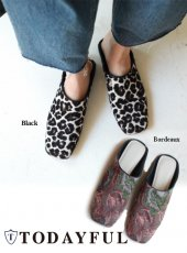 TODAYFUL(トゥデイフル)<br>Gobelin Flat Shoes  18秋冬【11821002】 18awpre