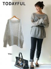 TODAYFUL(トゥデイフル)<br>Mohair Loose Knit  18秋冬【11820501】 18awpre