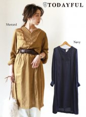 TODAYFUL(トゥデイフル)<br>Quilting Satin Dress  18秋冬【11820312】