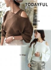 TODAYFUL(トゥデイフル)<br>Wool Ensemble Knit  18秋冬【11820514】
