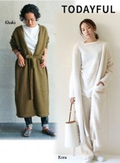 TODAYFUL(トゥデイフル)<br>Angola Knit Gown  18秋冬予約【11820511】