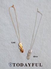 TODAYFUL(トゥデイフル)<br>Three Plate Necklace  18秋冬予約【11820925】 18awpre