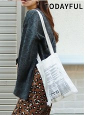 TODAYFUL(トゥデイフル)<br>Vintage Print Totebag  18秋冬.【11821065】トートバッグ