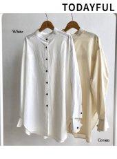 TODAYFUL(トゥデイフル)<br>Over Botton Shirts  18秋冬.予約【11820421】シャツ・ブラウス 18awpre