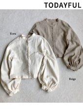 TODAYFUL(トゥデイフル)<br>Soft Wool Blouse  18秋冬.【11820426】シャツ・ブラウス 18awpre