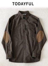 TODAYFUL(トゥデイフル)<br>Vintage Glencheck Shirts  18秋冬.予約【11820420】シャツ・ブラウス