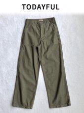 TODAYFUL(トゥデイフル)<br>Vintage Cargo パンツ  18秋冬.予約【11820723】パンツ 18awpre