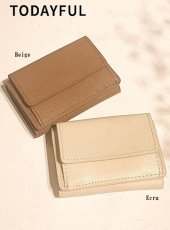 TODAYFUL(トゥデイフル)<br>Leather Mini Wallet  18秋冬.予約2【11821077】その他