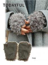 TODAYFUL(トゥデイフル)<br>Boa Arm Warmer  18秋冬.【11821033】マフラー・ストール