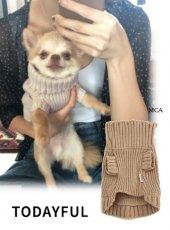 TODAYFUL(トゥデイフル)<br>Dog Turtle Knit  18秋冬.【11821062】18ssfs