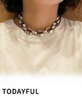TODAYFUL(トゥデイフル)<br>Wide Chain Choker  18秋冬.予約【11820983】ネックレス 18awpre