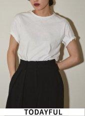 TODAYFUL(トゥデイフル)<br>Useful Tshirt 20秋冬.予約3【11890601.11990601】Tシャツ
