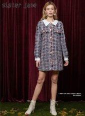 sister jane(シスタージェーン)<br>Chapter One Tweed Dress  18秋冬.予約【19SJ00DR1012】タイトワンピース クリスマス