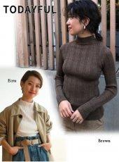 TODAYFUL(トゥデイフル)<br>Whole Garment Rib Knit  19春夏【11910514】ニットトップス  19ssfs