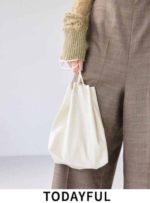 TODAYFUL(トゥデイフル)<br>Soft Leather Purse  21秋冬.【11911039 12121019】財布
