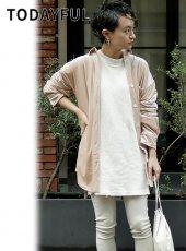 TODAYFUL(トゥデイフル)<br>Rough Velour Shirts  19春夏【11910407】シャツ・ブラウス