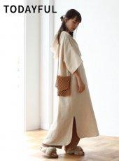 TODAYFUL(トゥデイフル)<br>Cocoon Mexican Dress  19春夏【11910308】マキシワンピース