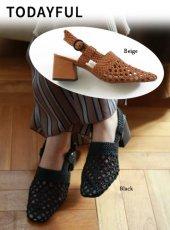 TODAYFUL(トゥデイフル)<br>Mesh Strap Sandals  19春夏【11911027】サンダル