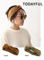 TODAYFUL(トゥデイフル)<br>Knot Hair Turban  19春夏【11911046】帽子