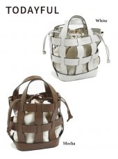 TODAYFUL(トゥデイフル)<br>Ecoleather Basket Bag  19春夏予約【11911032】ハンド・ショルダーバッグ