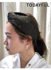 TODAYFUL(トゥデイフル)<br>Jacquard Hair Turban  19春夏【11911014】帽子