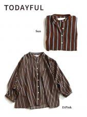 TODAYFUL(トゥデイフル)<br>Stripe Loose Shirts  19春夏【11910421】シャツ・ブラウス