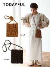 TODAYFUL(トゥデイフル)<br>Beads Shoulder Bag  19春夏予約【11911011】ハンド・ショルダーバッグ