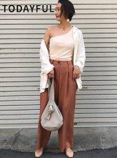 TODAYFUL(トゥデイフル)<br>Linen Trousers  19春夏2【11910712】パンツ