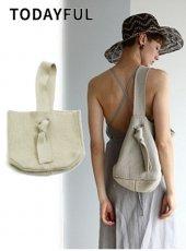 TODAYFUL(トゥデイフル)<br>Onehandle Knit Bag  19春夏【11911009】ハンド・ショルダーバッグ