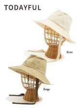 TODAYFUL(トゥデイフル)<br>Cotton Paraffin Hat  19春夏予約【11911018】帽子