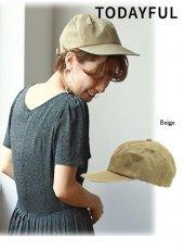 TODAYFUL(トゥデイフル)<br>Cotton Paraffin Cap  19春夏【11911020】帽子