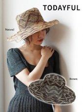 TODAYFUL(トゥデイフル)<br>Abaca Brade Hat  19春夏【11911021】帽子