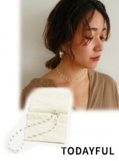 TODAYFUL(トゥデイフル)<br>Figaro Chain Necklace(Silver925)  19春夏【11820991】ネックレス