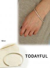 TODAYFUL(トゥデイフル)<br>Plain Bangle(Silver925)  19春夏【11820994】ブレスレット・アンクレット