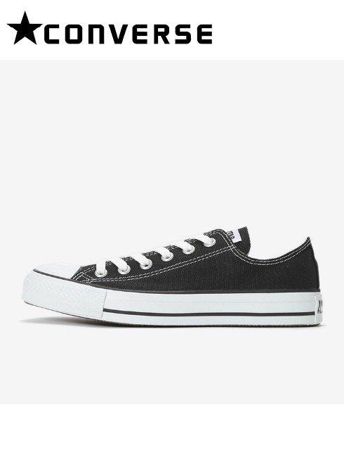 converse(コンバース)<br>キャンバスオールスターOX ブラック 【32160321】スニーカ