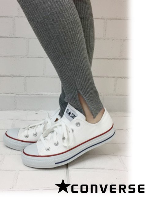 converse(コンバース)<br>キャンバスオールスターOX オプティカルホワイト 【32160323】スニーカー