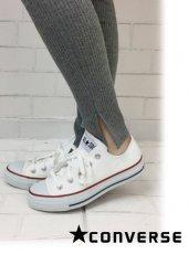 converse(コンバース)<br>キャンバスオールスターOX オプティカルホワイト  19春夏【32160323】スニーカー sale