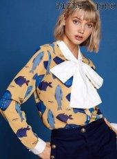 sister jane(シスタージェーン)<br>Fish Bow Shirt  19春夏【19SJ01BL805YLW】シャツ・ブラウス