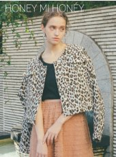 Honey mi Honey (ハニーミーハニー)<br>leopard jacket  19春夏【19S-TA-16】ジャケット19ssfs